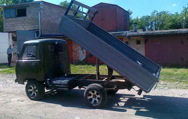 Автоматизированный УАЗ