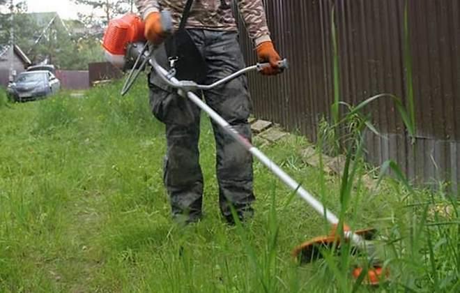 Бензотриммер для травы