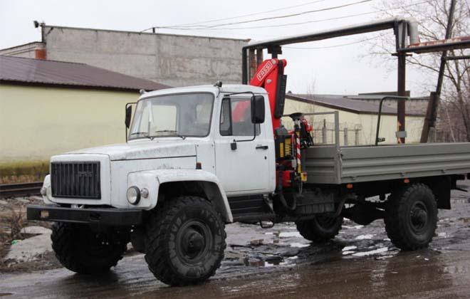 Бурильная установка БКМ-317 на базе ГАЗ