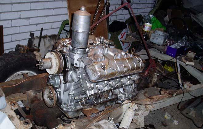 Двигатель ГАЗа-53