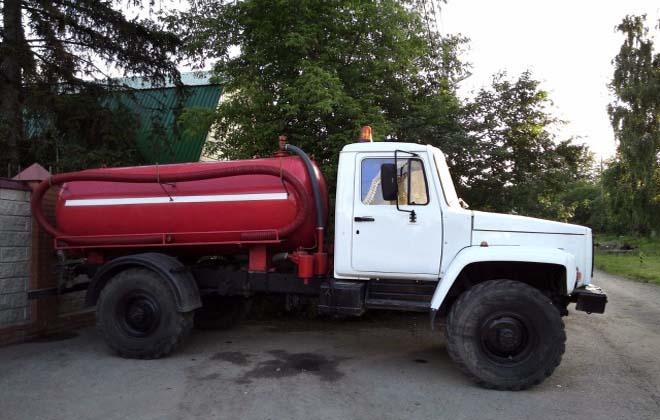 Газ 33081 Вездеход - Ассенизатор