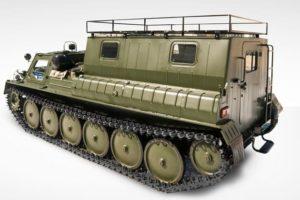 Технические характеристики гусеничного вездехода ГАЗ-34039