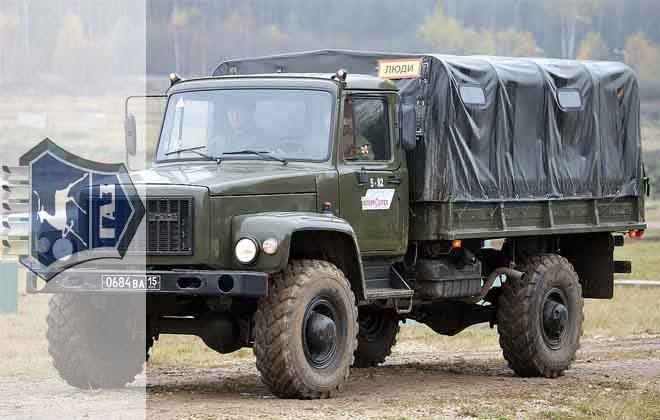 Грузовик ГАЗ-3308