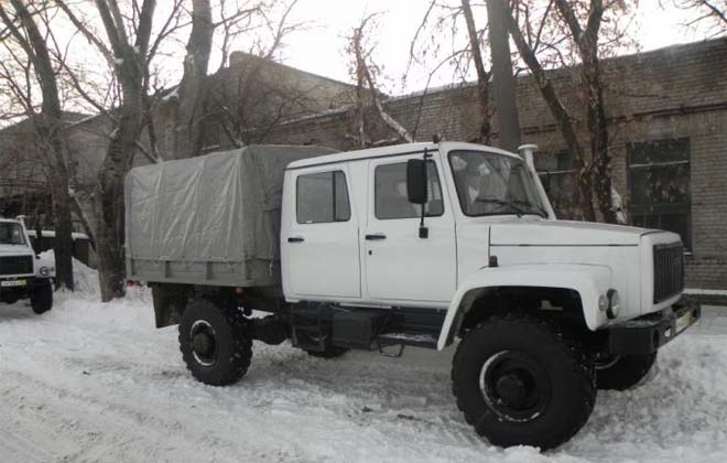 Грузовик ГАЗ-3897