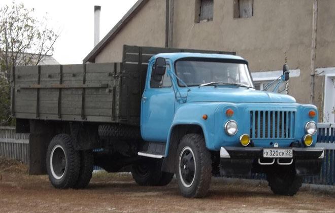 Коммерческий грузовик ГАЗ-52