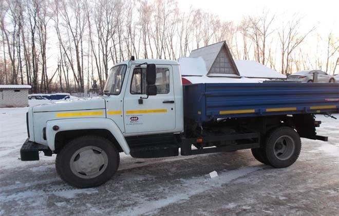 Крупногабаритный грузовик ГАЗ