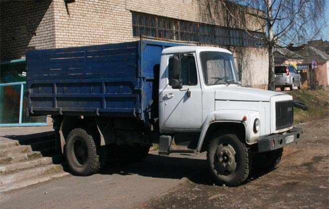 Модель ГАЗ 3306