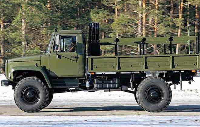 Модель ГАЗ-3308