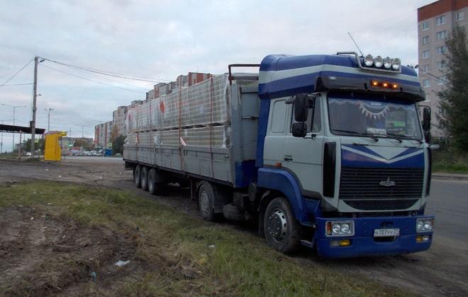 Модернизированный грузовик