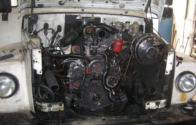 Мотор грузовика ГАЗ