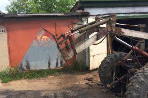Фронтальный погрузчик на трактор своими руками