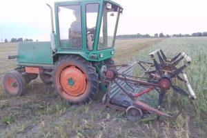 Самодельный зерноуборочный комбайн для уборки зерна своими руками