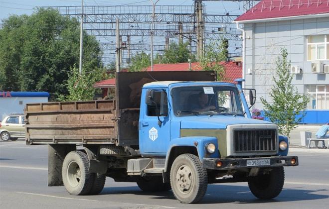 Самосвал ГАЗ-4509