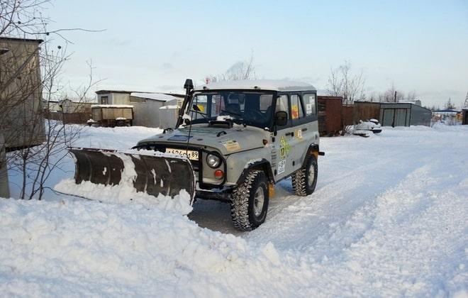 Снегоуборочный отвал