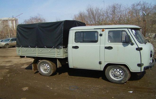 УАЗ модели 390945