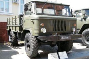 Грузовик высокой проходимости ГАЗ-66 Шишига (Шишка)