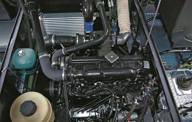 Внутренности машины