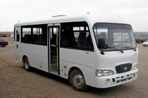 Технические характеристики автобусов среднего класса Hyundai County