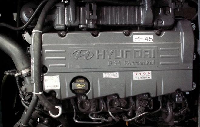 Двигатель D4GA