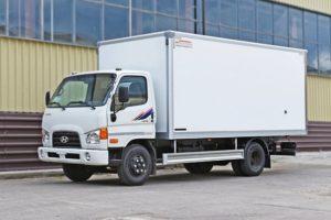 Грузовые фургоны Hyundai HD 78