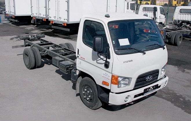 Шасси Hyundai HD 78