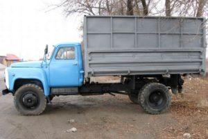 Технические характеристики грузовика самосвала ГАЗ-53 и других модификацый