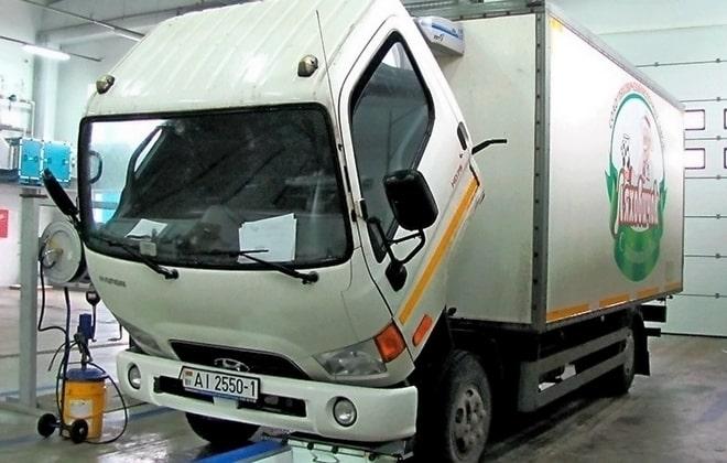 Обслуживание грузовиков Хендай