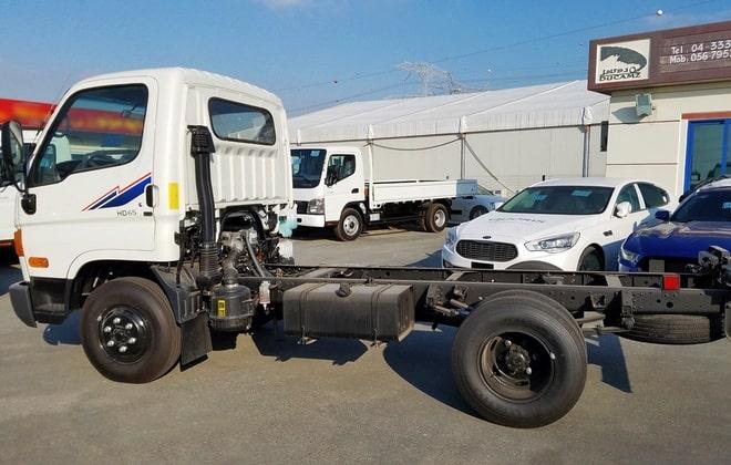 Южнокорейский грузовик