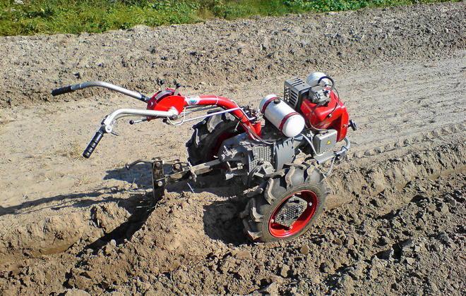 Обработка сухой почвы