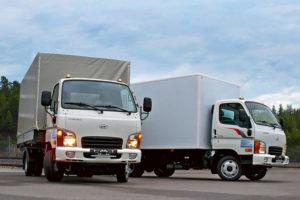 Малотоннажный грузовой автомобиль Hyundai HD35
