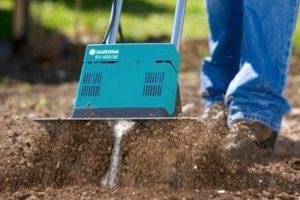 Электрические культиваторы Gardena для обработки земли