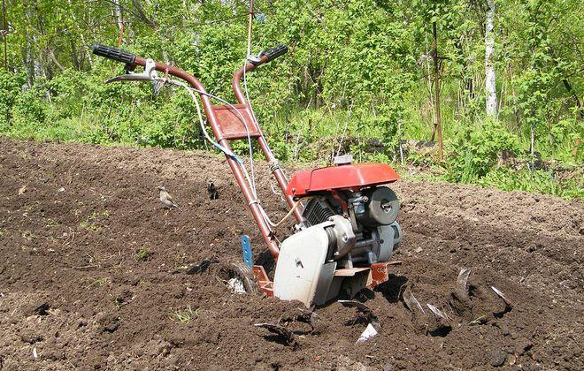 Глубина обработки почвы