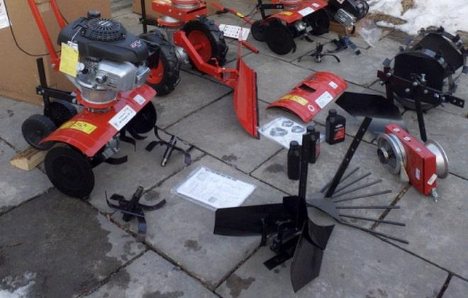Оборудование для мотокультиватора