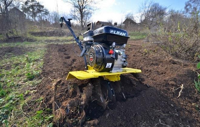 Ширина захвата почвы