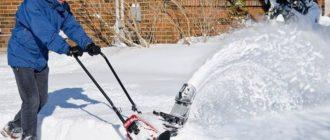 Техника для чистки снега