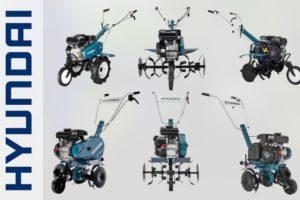 ТОП-8 культиваторов Hyundai с бензиновыми и электрическими двигателями