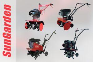 ТОП-4 культиватора Sungarden для обработки небольших участков земли