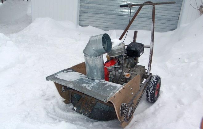 Уборка мокрого снега