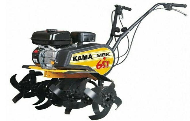 Ручной культиватор Кама МВК-651 с навесным оборудованием