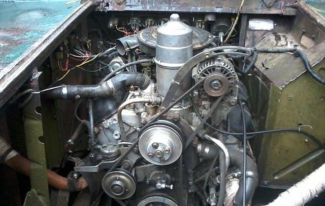 Двигатель ГАЗ-47