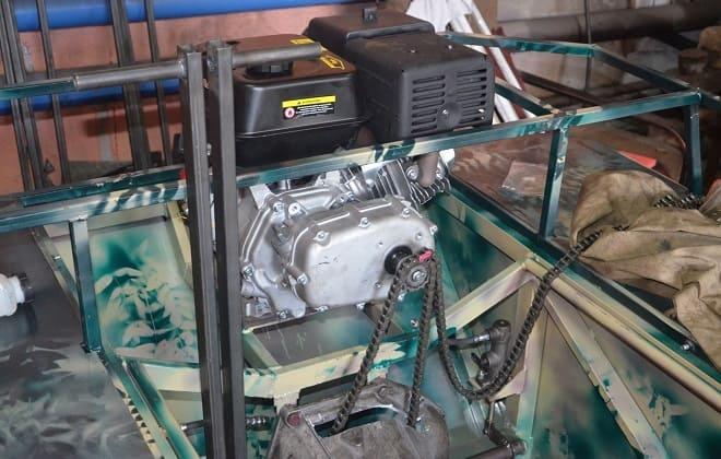 Двигатель вездехода Мишутки