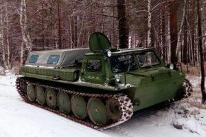 Военный гусеничный вездеход ГАЗ-71 (ГТ-СМ) по прозвищу «газушка»