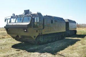 Вездеход Витязь ДТ-30 с торсионной подвеской и сниженным расходом топлива