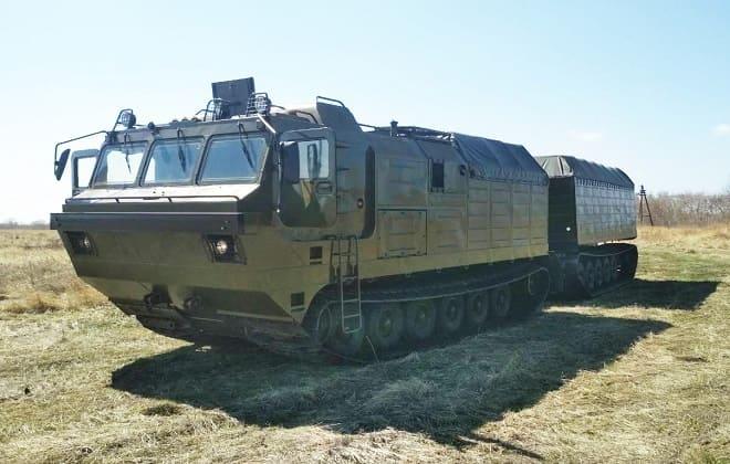 Гусеничный вездеход Витязь ДТ-30