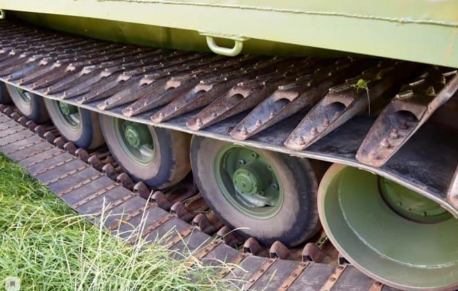 Ходовая часть шасси вездехода Витязь ДТ-30П