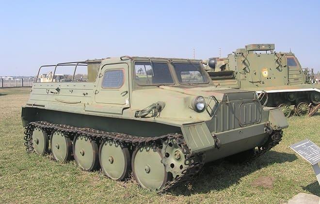 Вездеход ГТС ГАЗ-47