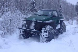 Самодельные вездеходы из ВАЗа: гусеничные и колесные на шинах низкого давления