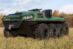 Универсальный вездеход Tinger Armor из ударопрочного пластика укомплектован двигателем Chery