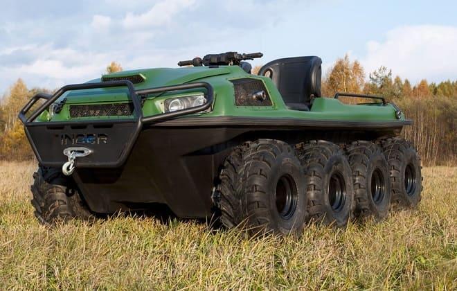 Зеленый вездеход Tinger Armor
