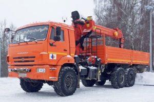 Вездеходы манипуляторы на базе КамАЗа 6х6 с кучей дополнительного оборудования
